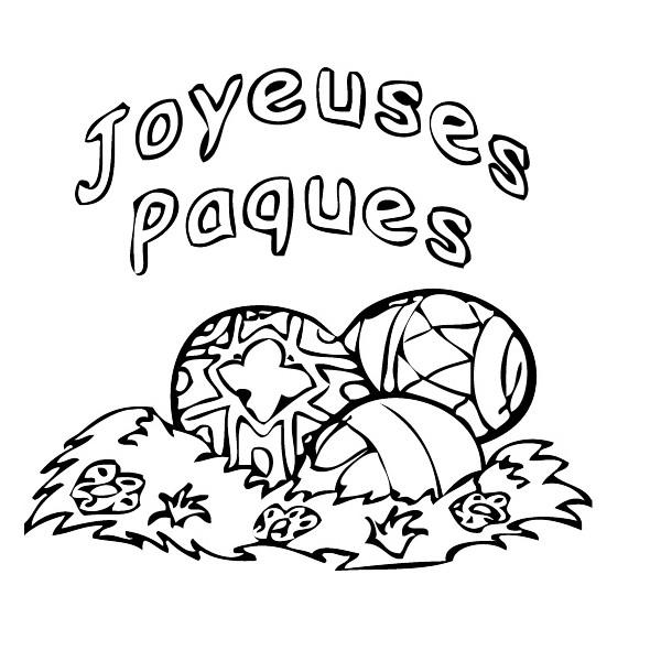 tampon Joyeuses Pâques n°3