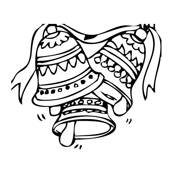 tampon Cloches de Pâques