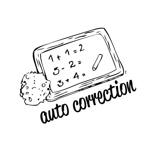 tampon n°176: Auto correction