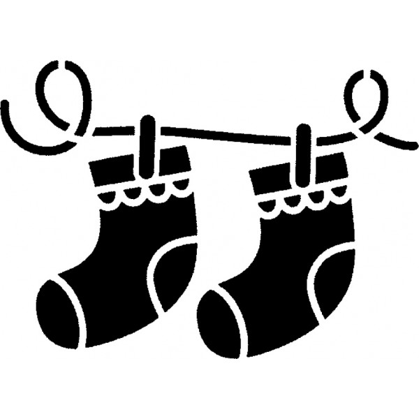 tampon Chaussettes