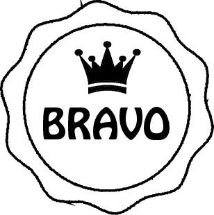 Tampon en bois Bravo n°204