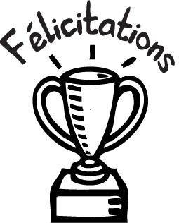 tampon n°42: Félicitations 22x27 mm