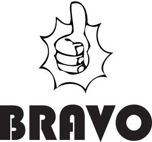 tampon n°5 : Bravo 25x23 mm