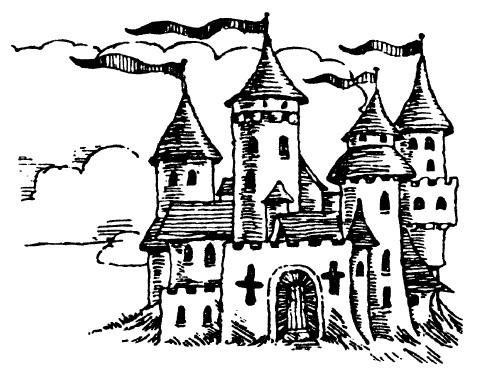 tampon Château de la princesse
