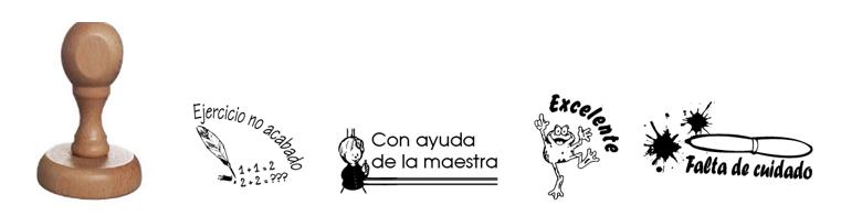 Pack 4 tampons évaluations espagnoles 5