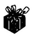 tampon Paquet cadeau
