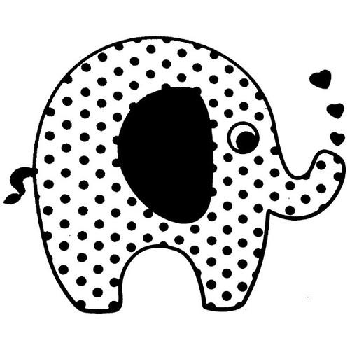 tampon Eléphant n°4