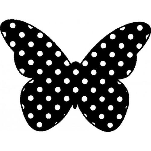 Tampon en bois Papillon n°7