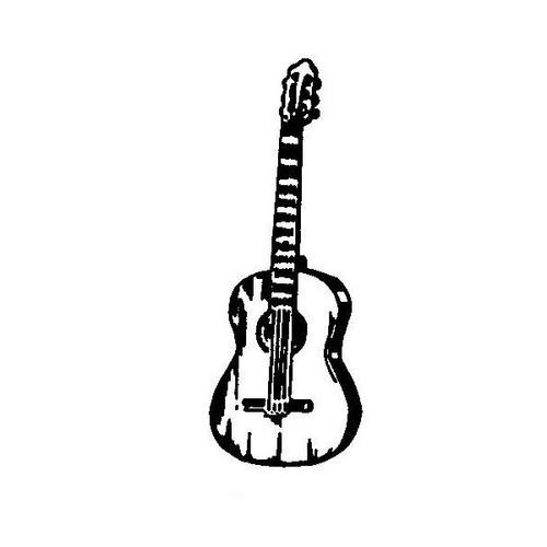 tampon Guitare classique