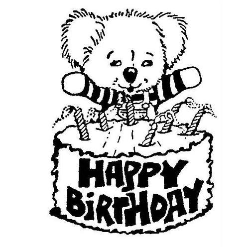 tampon Koala anniversaire