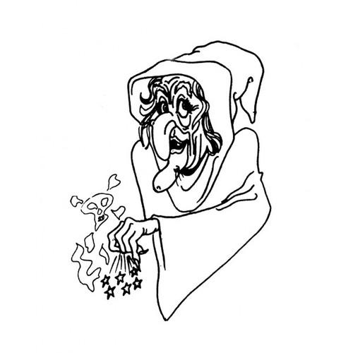tampon La vieille sorcière