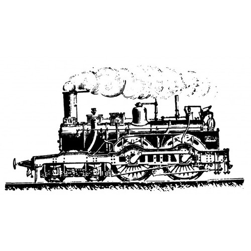 tampon Locomotive