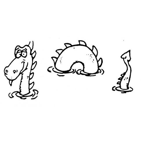 tampon Monstre du Loch Ness