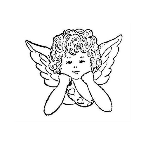 tampon Petit ange n°2