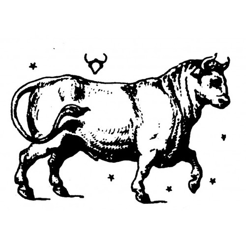 tampon Signe du zodiaque taureau