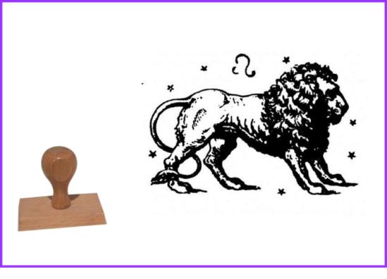 Tampons signes du Zodiaque