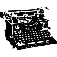 tampon Machine à écrire