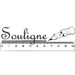 Tampon en bois Souligne n°109
