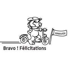 Tampon en bois Bravo n°112
