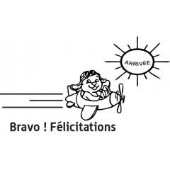 Tampon en bois Bravo n°114