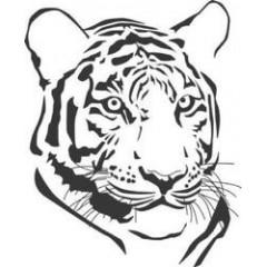 tampon Tête de tigre