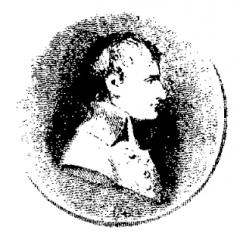 Tampon en bois Buste de Bonaparte
