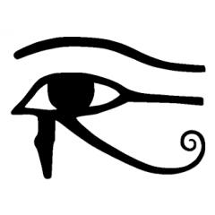 Tampon en bois Oeil égyptien