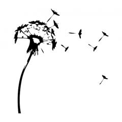 tampon Fleur de pissenlit