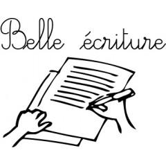 tampon n°157: Belle écriture
