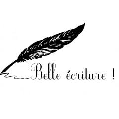 Tampon en bois Belle écriture n°159