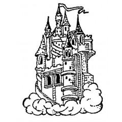 tampon Château belle au bois dormant