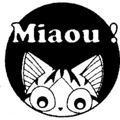 Tampon en bois Chat miaou