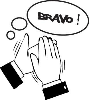 Tampon en bois Bravo n°37