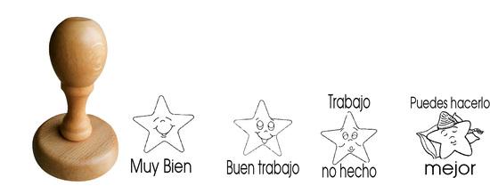 Pack 4 tampons évaluations espagnoles 1