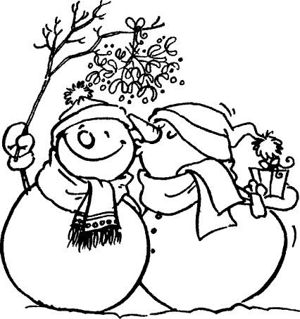 tampon Bonhomme de neige n°2