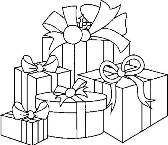 Tampon en bois Cadeaux de Noël