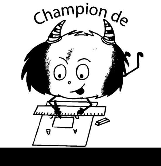 Tampon en bois Champion de gémomètrie n°292
