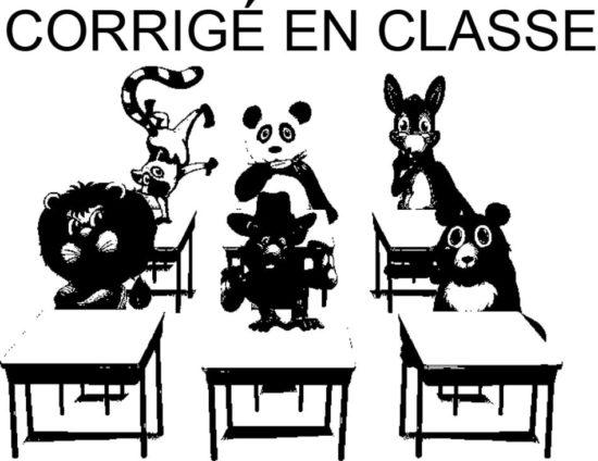 Tampon en bois Corrigé en classe n°319