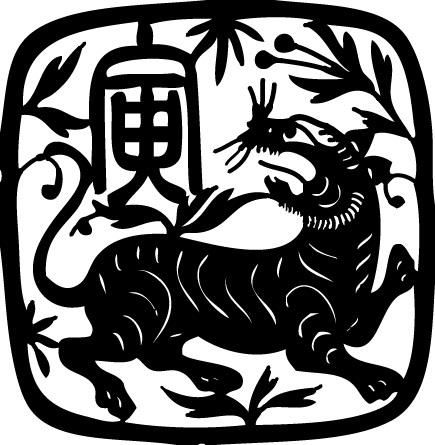 Tampons en bois Dragon