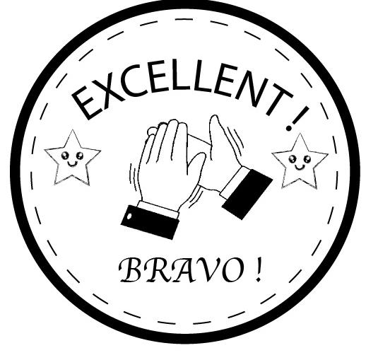 Tampon en bois Excellent / Bravo n°312
