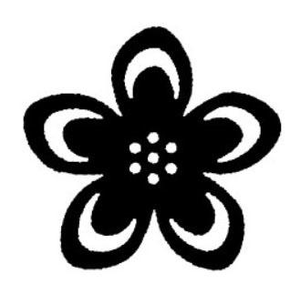 tampon Fleur n°2