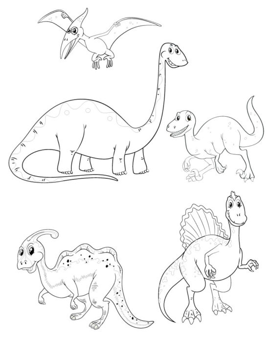 Lot tampons tatouages éphémères Dinosaures