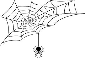 Tampon en bois Toile d'araignée