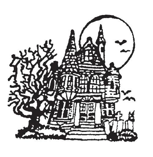 tampon Maison hantée