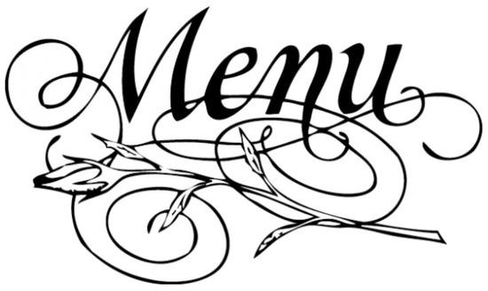 Tampon menu n°1