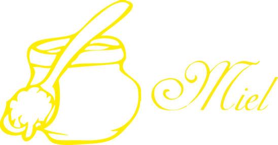 Tampon en bois miel