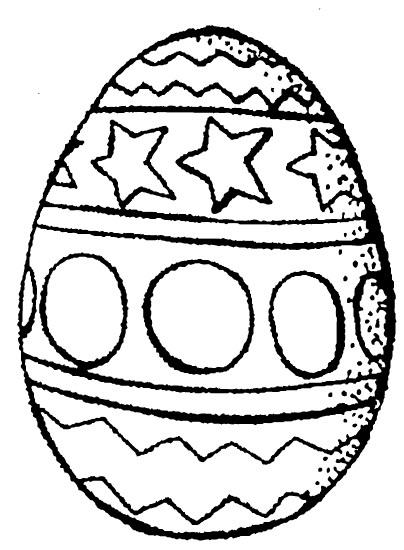 tampon Oeuf de Pâques
