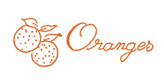 Tampon en bois Confiture d'oranges
