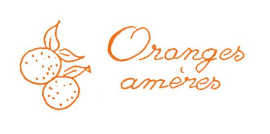 Tampon en bois Confiture d'oranges amères