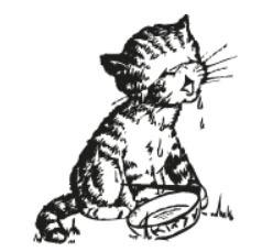 Tampon en bois Petit chat